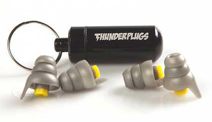 Thunderplugs Duopack Špunty do uší na koncerty 2 páry Earplugs